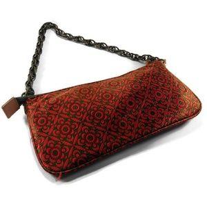 J. Crew Silk Tapestry Handbag Shoulder Bag